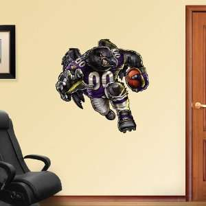 NFL Baltimore Ravens Rampaging Ravens Vinyl Wall Graphic Decal Sticker