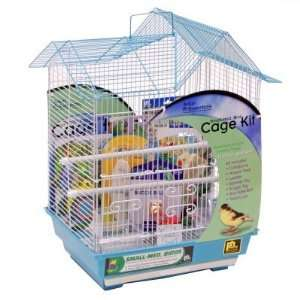 Pet Products Double Roof Parakeet Cage Kit   91110 Pet Supplies
