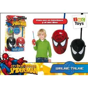 Spider Man & Dark Spider man 49MHz Walkie Talkies Toys & Games