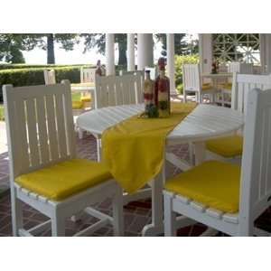 Casual Cushion Patio Recycled Plastic Dining Set Patio, Lawn & Garden
