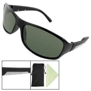 Black Full Frame Plastic Polaring Fishing Sunglasses Home Improvement