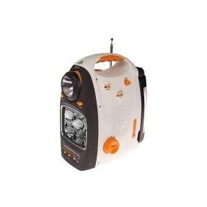 GPX Portable 5 B& W TV, Lantern & AM/ FM Radio w