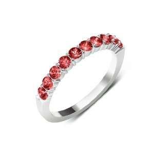 50cttw Natural Round Red Garnet (AA+ Clarity,Red Color) 10 Stone