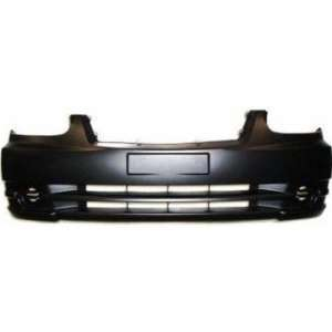 Hyundai Accent Primed Black Replacement Front Bumper Cover Automotive