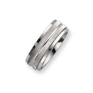 Sterling Silver Mens Spinning Band Ring   Size 12