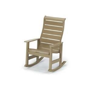 Recycled Plastic Arm Rocker Patio Lounge Chair Patio, Lawn & Garden