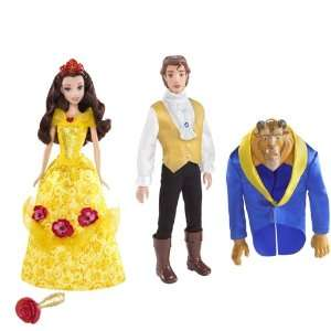Disney Princess Magical Roses Belle Doll and Transforming