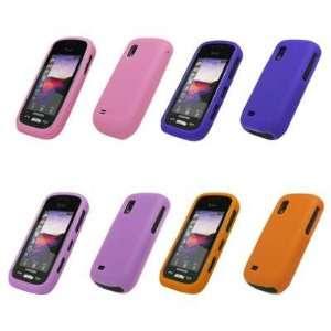 Cases (Light Purple, Orange, Pink, Purple) for Samsung Solstice A887
