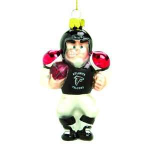 ATLANTA FALCONS BLOWN GLASS CHRISTMAS ORNAMENT (3)  Sports