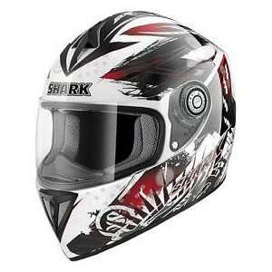 Shark RSI SKYLON BK_WH_RD MD MOTORCYCLE Full Face Helmet