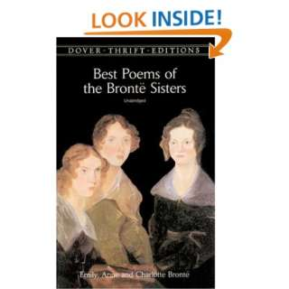 Best Poems of the Brontë Sisters (Dover Thrift Editions