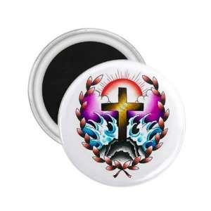 Heaven Art Fridge Souvenir Magnet 2.25