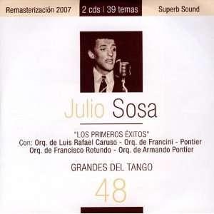 Grandes Del Tango 48 Julio Sosa Music