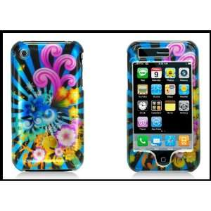 iPhone 3G 3GS Hard Shell Cover Case Front & Back Colorful