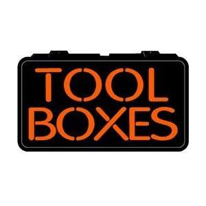 Tool Boxes Backlit Lighted Imitation Neon Sign Office