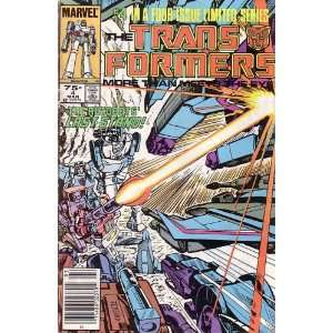 The Transformers, Vol 1 #4 (Comic Book) #4 IN A FOUR ISSUE