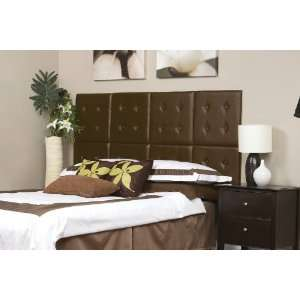 Full/Queen Size Upholstered Headboard Panels with Tufted