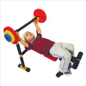 Fitness Health System For Kids  Weight Bench   Primary Colors: Baby