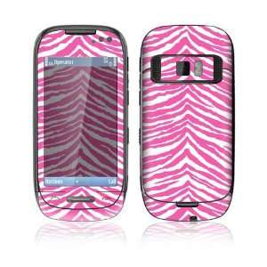 Pink Zebra Decorative Skin Cover Decal Sticker for Nokia