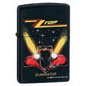 Zippo ZZ Top Black Matte Lighter