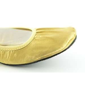 Fit in Clouds ROYALGOLD Womens Foldable Flats in Royal Gold Size XX