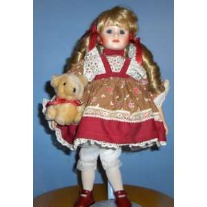 Friends Are Forever Genuine Porcelain Doll By Adorable Memories  Toys