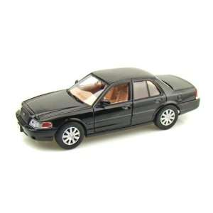 2007 Ford Crown Victoria 1/24 Black Toys & Games