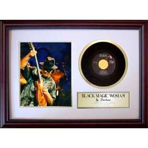 Carlos Santana Black Magic Woman Custom Framed Record