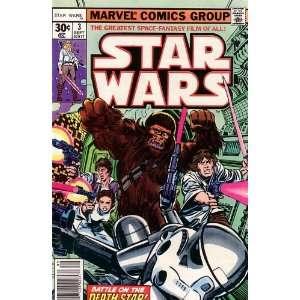Star Wars, Vol 1 #3 (Comic Book) Death Star ROY THOMAS