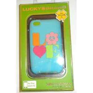 Lucky Brand Soft Feel Silicone LOVE Case for iPod touch