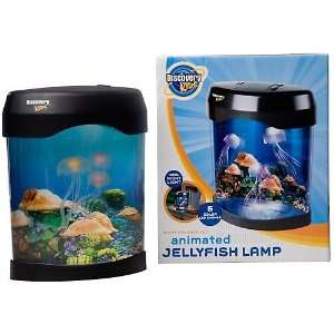 Discovery Kids Animated Jellyfish Lamp MULTI: Toys & Games