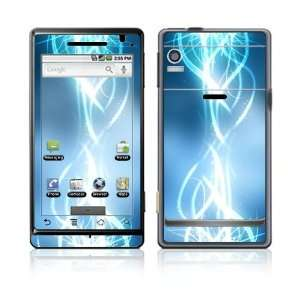 Electric Tribal Design Decal Skin Sticker for Motorola Droid (Verizon