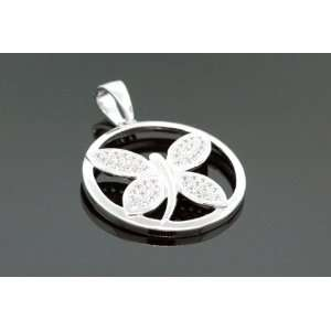 Ladies Fancy Butterfly Charm Pendant