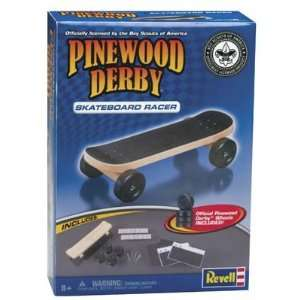 Revell   Skateboard Racer Kit (Pinewood Derby) Toys & Games
