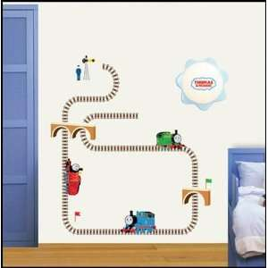THOMAS AND FRIENDS THE TRAIN Decor Wall Sticker Kids TMS