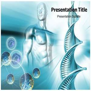 Gene therapy PowerPoint Template   Gene therapy PowerPoint