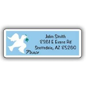 Peace Return Address Label Office Products