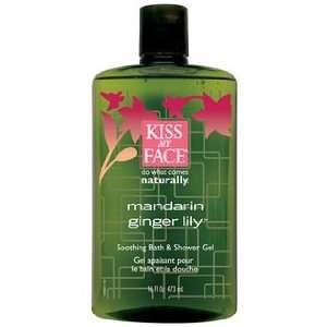 Kiss My Face Bath & Shower Gel, Mandarin Ginger Lily 16 oz