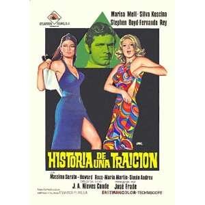 Historia de una traicion Poster Movie Spanish (11 x 17