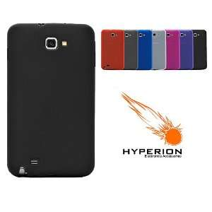Hyperion Samsung Galaxy Note TPU Case Matte Black (Compatible with AT
