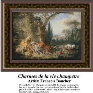 Charmes de la vie champetre, Counted Cross Stitch Patterns