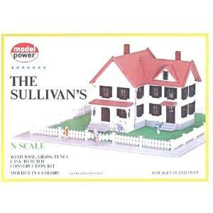 The Sullivans House Building Kit N Scale Model Power Toys