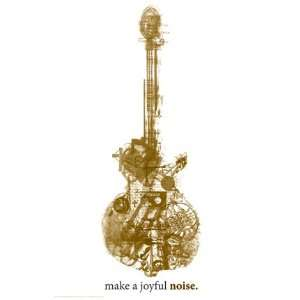 Make a Joyful Noise   Poster Home & Kitchen
