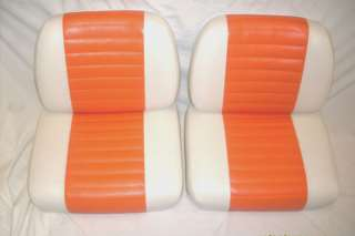 Harley davidson golf cart seat COVER ONLY