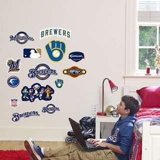 Milwaukee Brewers Junior Logo Sheet   MLB Shop