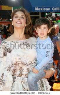 Jo Champa And Son Sean At The World Premiere Of Dr. Seuss Horton