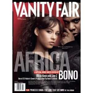 Vanity Fair July 2007 Africa Issue, Keys/Jay Z Cover