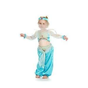 Girl Dress on Girls Arabian Princess Jasmine Fancy Dress Costume 5 7 Years