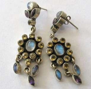 Nicky Butler Sterling Silver Earrings