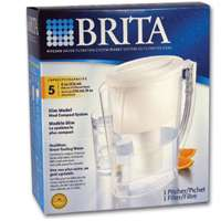 Buy online exclusive   Brita Original Slim Pitcher Household Water